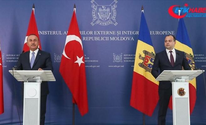 Dışişleri Bakanı Çavuşoğlu: Moldova'nın herhangi bir desteğe ihtiyacı olursa Türkiye olarak vermeye devam edeceğiz.