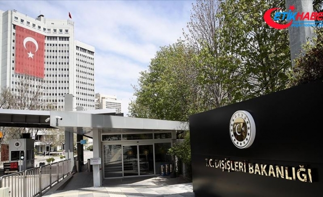 Dışişleri: Doğu Akdeniz'de Türkiye'yi ve Kıbrıs Türkü'nü dışlayan her girişim hüsranla sonuçlanacak