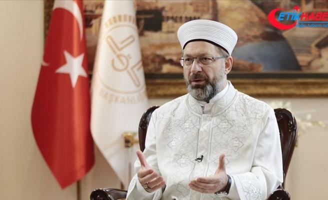 Diyanet İşleri Başkanı Erbaş'tan Norveç'te Kur'an-ı Kerim'in yırtılmasına tepki