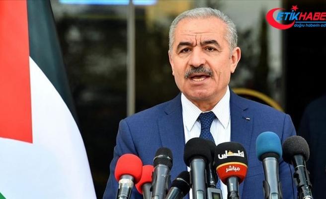 """Filistin Başbakanı: """"İsrail'e ait uçağın bugün BAE'ye inmesi bizi derinden üzmektedir"""""""