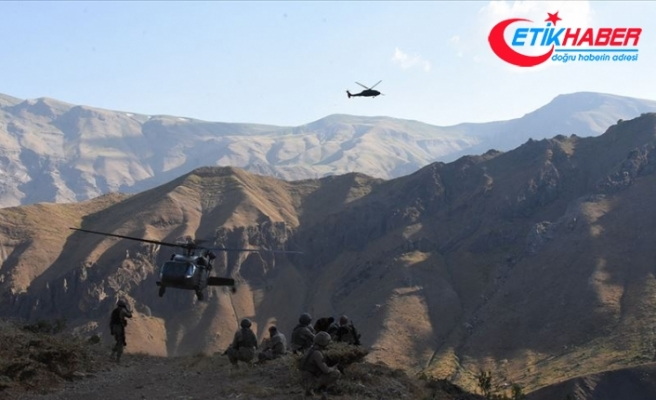 Hakkari'de terör örgütü PKK/KCK'ya ağır darbe