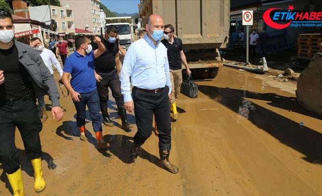 İçişleri Bakanı Soylu: Giresun'daki selde şu ana kadar 8 vatandaşımız hayatını kaybetti