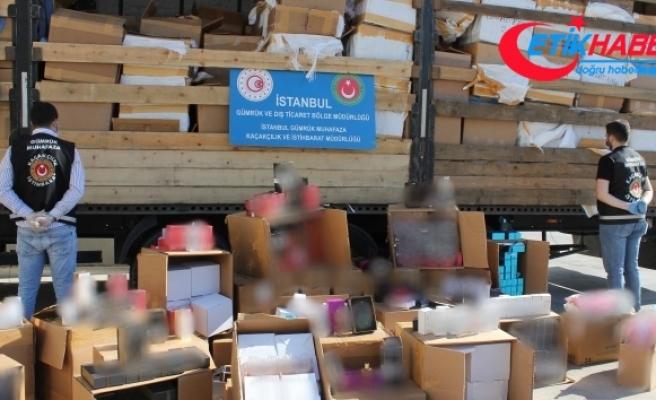 İstanbul'da 10 milyon lira değerinde kaçak parfüm ele geçirildi