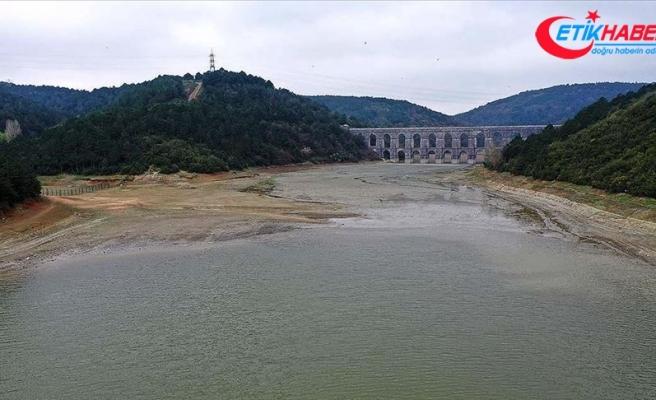 İstanbul'un barajlarında son 10 yılın en düşük ikinci su seviyesi ölçüldü