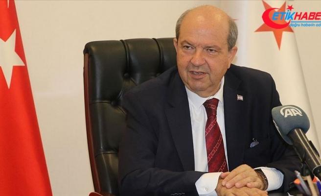 KKTC Başbakanı Tatar: Doğu Akdeniz'de hakkımızı yedirtmeyiz