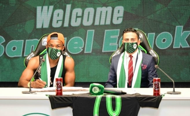 Konyaspor Eduok'u kiraladı