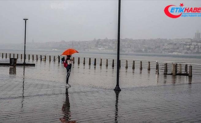 Marmara Bölgesi'nde gök gürültülü sağanak bekleniyor
