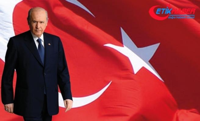 MHP Lideri Bahçeli: 9 Eylül'de İzmir'de düşmanın denize döküldüğü muhit ve mıntıkaya kadar istiklal için kararlılık yürüyüşü yapacağız