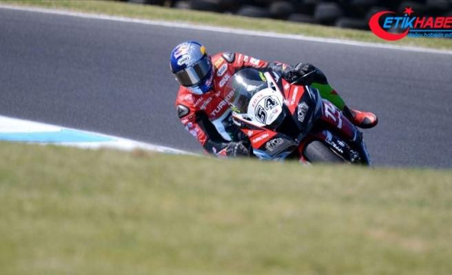 Milli motosikletçi Toprak Razgatlıoğlu İspanya'daki ikinci yarışta 8. oldu