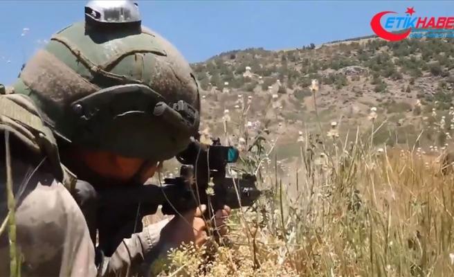 Pençe Kaplan bölgesinde eylem hazırlığındaki 6 PKK'lı terörist etkisiz hale getirildi