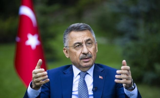 """Cumhurbaşkanı Yardımcısı Oktay'dan AB'ye çağrı: """"Hakkaniyetli olun, Türkiye geri adım atmayacak"""""""