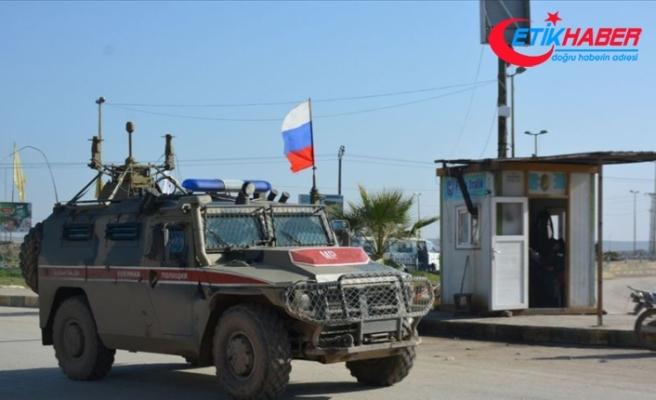 Rusya, Suriye'de ABD askerlerinin Rus devriyesini engellediğini iddia etti