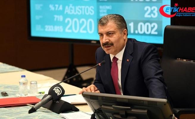 Sağlık Bakanı Koca: Evde tedavide yeni bir uygulamaya geçiyoruz