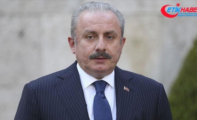 TBMM Başkanı Şentop: Libya'da uluslararası hukuka aykırı olarak bulunan devletler, meşru hükümete saygı göstermeli