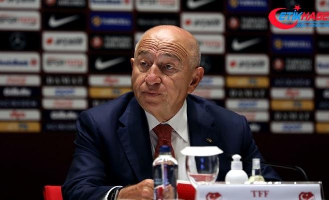 TFF Başkanı Özdemir: Milli takımlarımız sponsorlar için bir cazibe alanına dönüştü