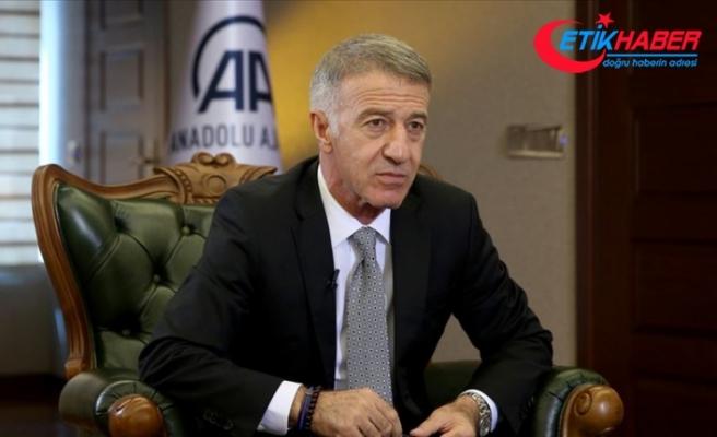 Trabzonspor Kulübü Başkanı Ağaoğlu: Sörloth için en ısrarcı kulüp Leipzig