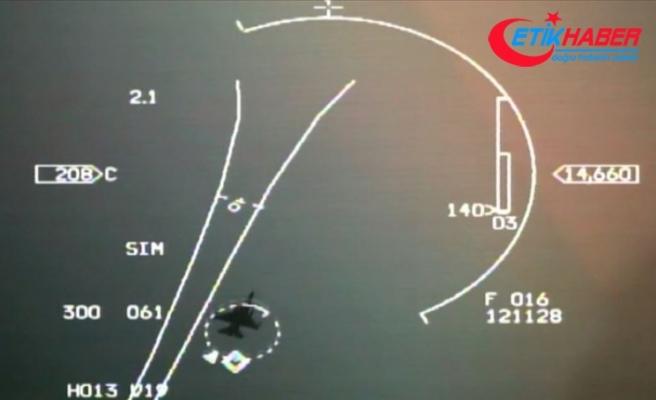 Türk savaş uçakları, Yunan F-16'larını Navtex bölgesinden uzaklaştırdı