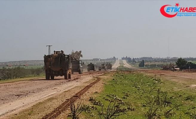 Türkiye ile Rusya'nın İdlib M4 kara yolundaki 25. birleşik kara devriyesi tamamlandı