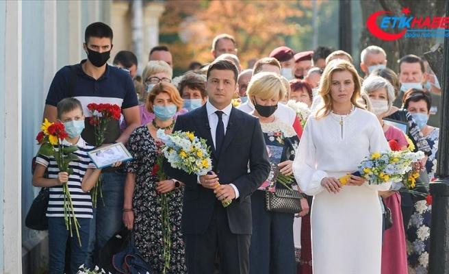 Ukrayna bağımsızlığının 29. yılını kutladı