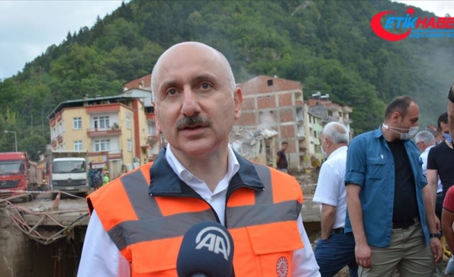 Ulaştırma ve Altyapı Bakanı Adil Karaismailoğlu: Devletimiz Giresun'umuzun yanında