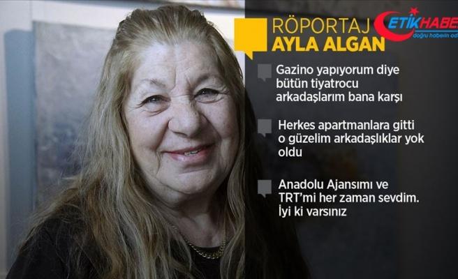 Usta sanatçı Ayla Algan: Hep komedi oynamak istedim hayatım boyunca, oynayamadım ya!