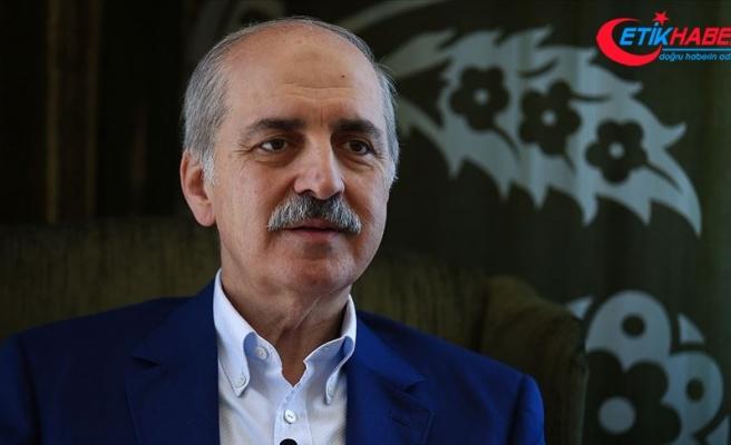 AK Parti'li Kurtulmuş'tan Avrupa Birliği Konseyi Başkanı Charles Michel'e tepki