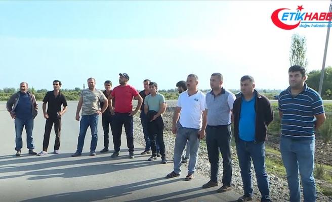 Azerbaycan'da Ermeni ateşi altındaki köyden dünyaya çağrı