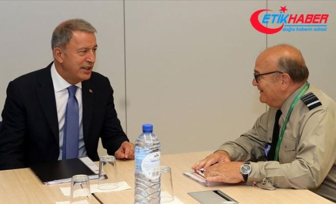 Bakan Akar NATO Askeri Komite Başkanı Peach ile bir araya gelecek