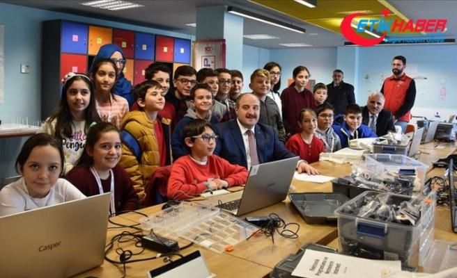 Bakan Varank: 30 Deneyap Teknoloji Atölyesi'ni hayata geçirdik