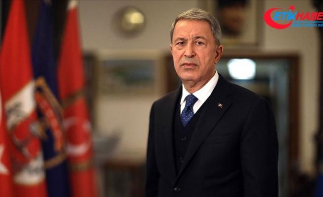 Milli Savunma Bakanı Akar: Kuzey Kıbrıs Türkü bu seçimlerle örnek bir demokrasiye sahip olduğunu göstermiştir
