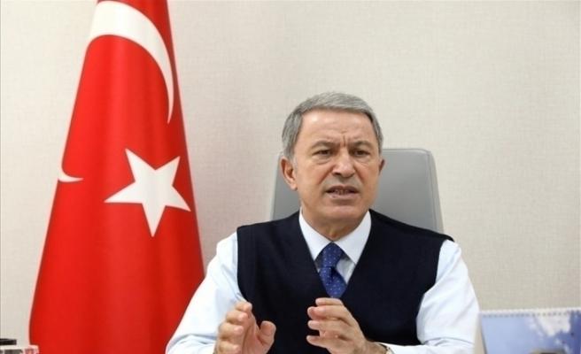 Milli Savunma Bakanı Akar: Doğu Akdeniz ve Ege'de komşularımızı diyaloğa davet ediyoruz