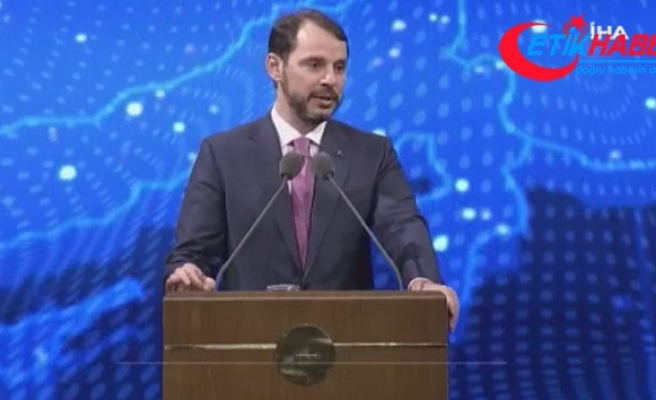 Bakan Albayrak: 'Güçlü ekonomimiz ve sağlam finansal altyapımızla yatırımlarımıza devam ediyoruz'