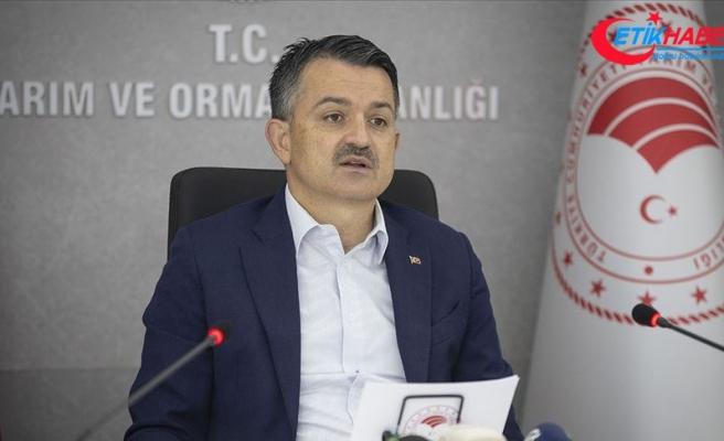 """Bakan Pakdemirli: """"91 firmaya ait 113 parti ürün daha ifşa edildi"""""""