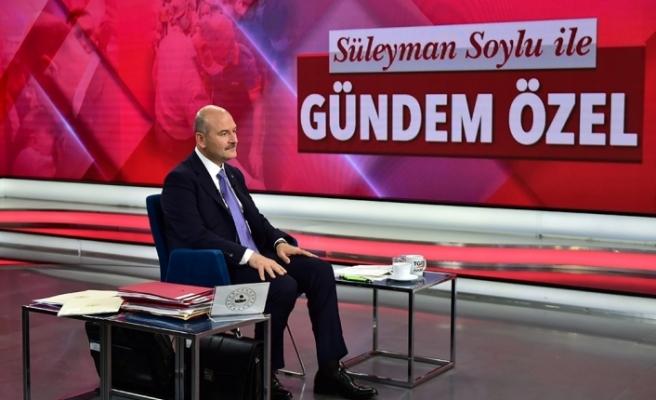 """Bakan Süleyman Soylu: """"Türkiye bütün dünyaya örnek bir yeni metot oluşturdu"""