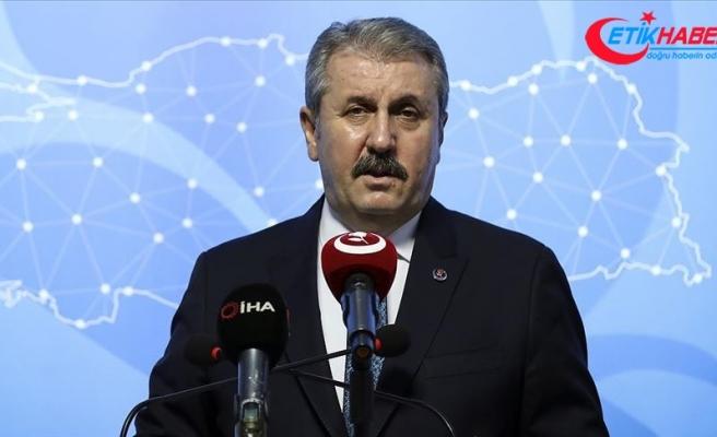 BBP Genel Başkanı Destici: Yunanistan'ın kara sularını adalar devletiymiş gibi belirlemeye çalışması hukuksuzluktur