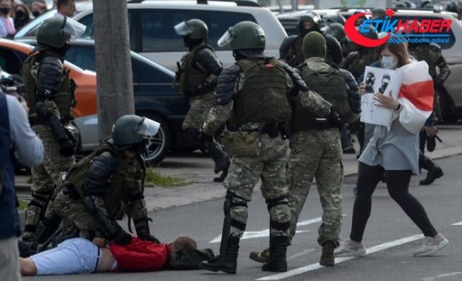 Belarus'taki şiddetli protestolarda gözaltı sayısı 774'e ulaştı