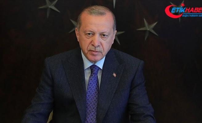 Erdoğan: Denizlerimizdeki çıkarlarımızı korumaya sarsılmaz bir inançla devam etmekteyiz