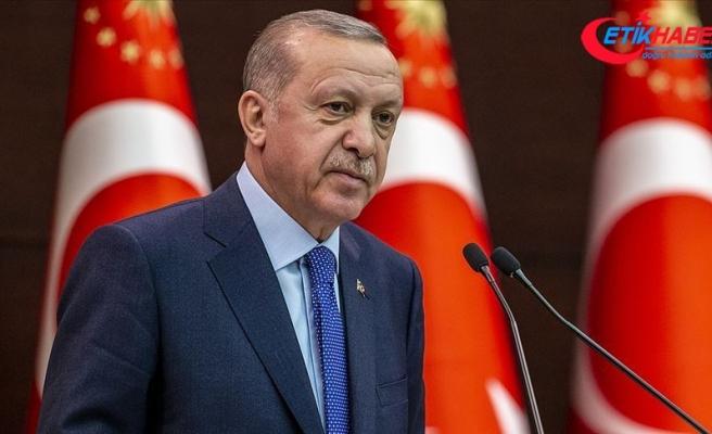 Cumhurbaşkanı Erdoğan, Trump ile eşine geçmiş olsun dileklerini iletti