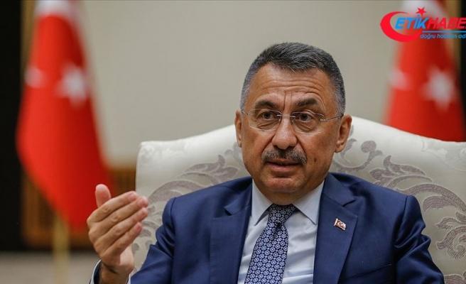 Cumhurbaşkanı Yardımcısı Oktay: Türkiye ve KKTC bölgede kendilerine karşı oynanan oyunların farkındadır