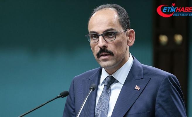 Cumhurbaşkanlığı Sözcüsü Kalın'dan Biden'a cevap: Ermenistan'dan da işgale son vermesini ister miydiniz?