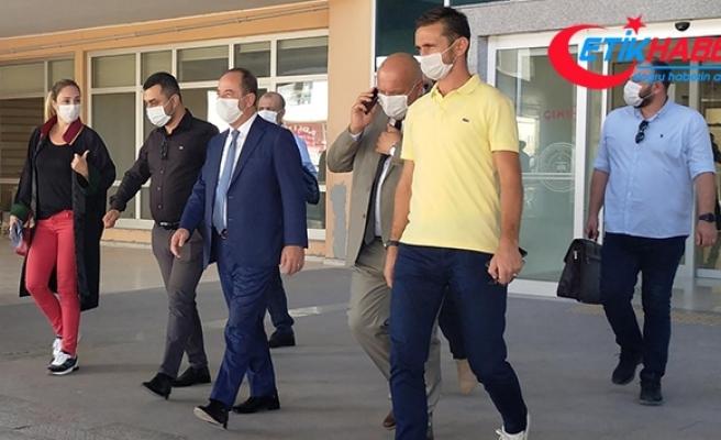 Darbe girişimi gecesi kadeh kaldırdığı görüntüler basına sızmıştı! CHP'li Gürkan hakim karşısında