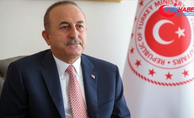 Dışişleri Bakanı Çavuşoğlu: Sahada ve masada can Azerbaycan'ın yanındayız