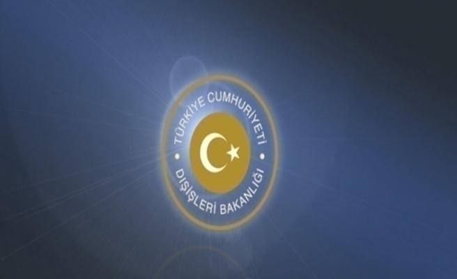 """Dışişleri Bakanlığı: """"AP'nin Doğu Akdeniz tavsiye kararı birçok yönüyle kabul edilemez"""""""
