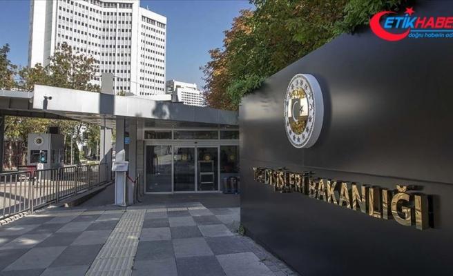 Dışişleri Bakanlığı: BM İnsan Hakları Yüksek Komiserliği'nin ülkemize yönelttiği eleştirileri reddediyoruz