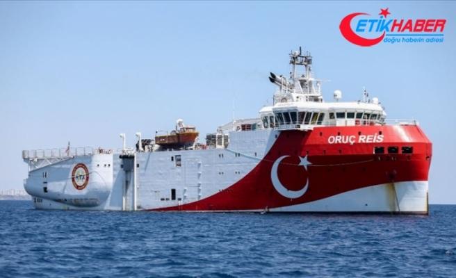 Enerji ve Tabii Kaynaklar Bakanlığı: Oruç Reis'in limana dönmesi rutin, araştırma faaliyetlerine devam edecek