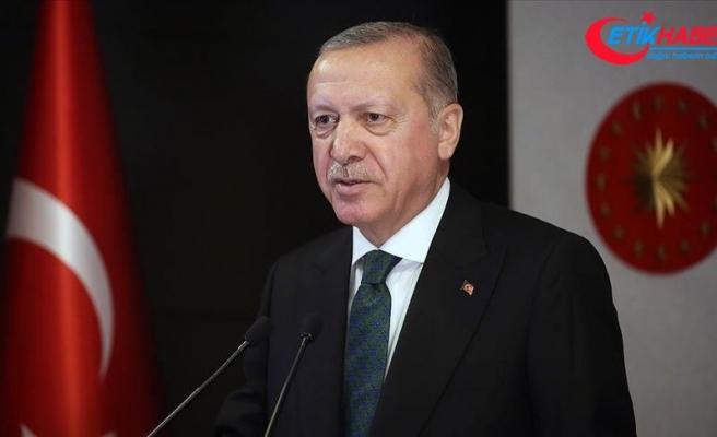 Erdoğan'dan Japonya'nın yeni Başbakanı Suga Yoşihide'ye tebrik