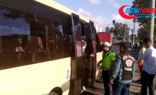Esenyurt'ta yine aynı manzara, 12 yerine 35 yolcu çıktı