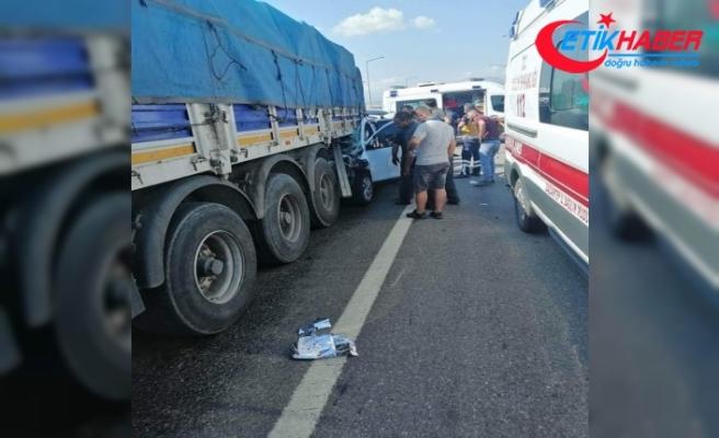 Gaziantep'te feci kaza: 3 ölü, 1 yaralı