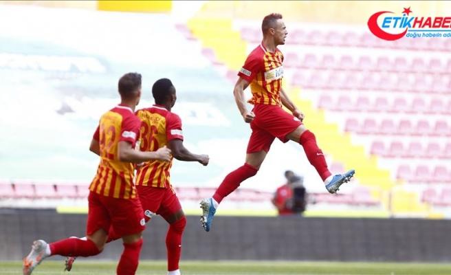 Hes Kablo Kayserispor tek golle kazandı