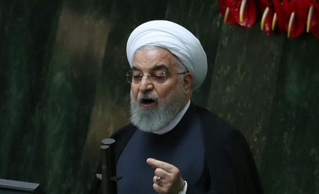 """İran Cumhurbaşkanı Ruhani: """"Yaptırımlara ve korona virüse rağmen iç üretimi arttırmalıyız"""""""